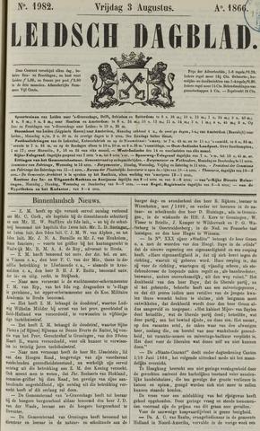 Leidsch Dagblad 1866-08-03