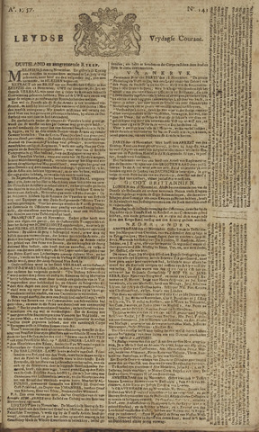 Leydse Courant 1757-11-25