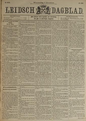 Leidsch Dagblad 1896-10-07
