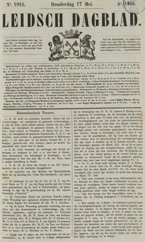 Leidsch Dagblad 1866-05-17