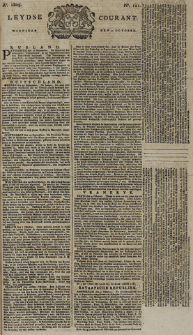 Leydse Courant 1805-10-09