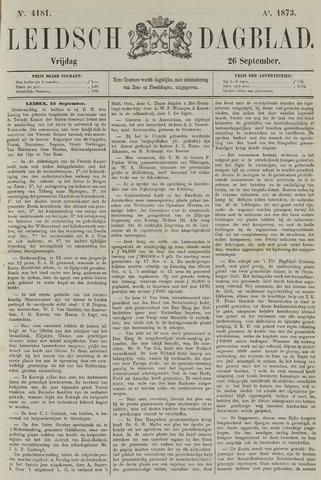Leidsch Dagblad 1873-09-26