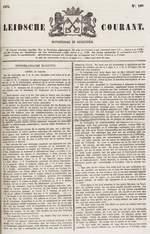 Leydse Courant 1875-08-26