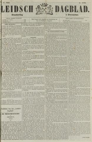 Leidsch Dagblad 1870-12-01