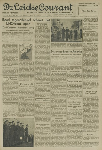Leidse Courant 1950-11-27