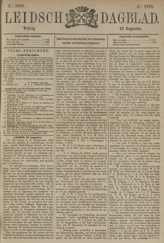 Leidsch Dagblad 1878-08-23