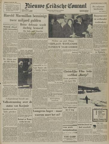 Nieuwe Leidsche Courant 1957-01-25