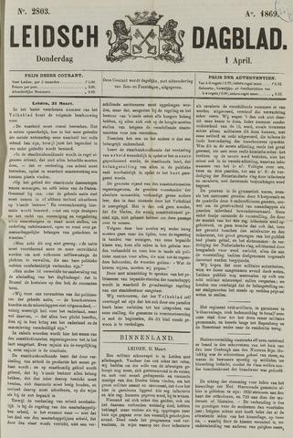 Leidsch Dagblad 1869-04-01