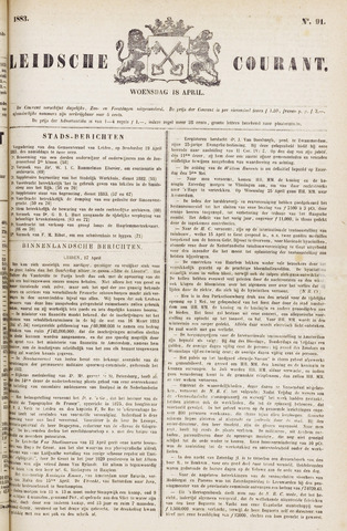 Leydse Courant 1883-04-18