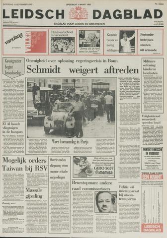 Leidsch Dagblad 1982-09-18