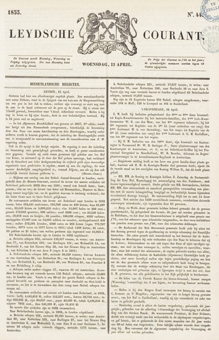 Leydse Courant 1853-04-13