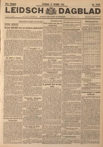 Leidsch Dagblad 1942-10-31