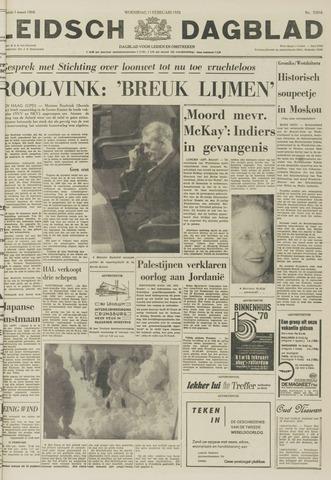 Leidsch Dagblad 1970-02-11