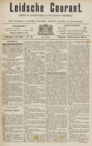 Leydse Courant 1885-07-04