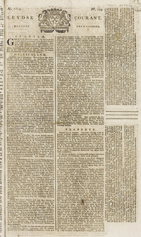 Leydse Courant 1814-10-17