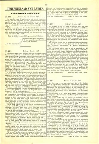 Handelingen van de Raad 1927-10-04