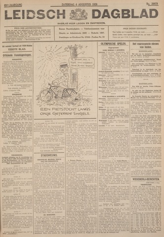 Leidsch Dagblad 1928-08-04