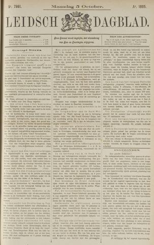 Leidsch Dagblad 1885-10-05