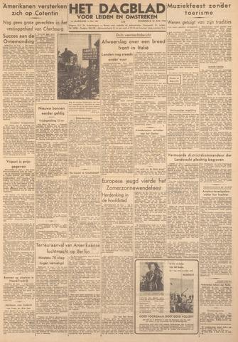Dagblad voor Leiden en Omstreken 1944-06-22