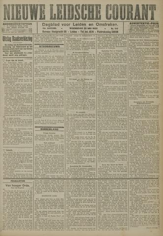 Nieuwe Leidsche Courant 1923-05-23