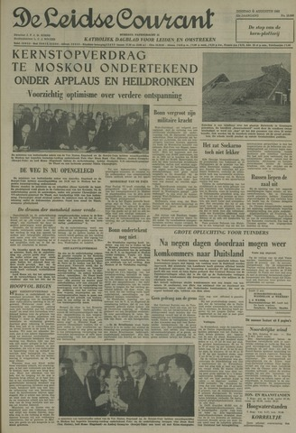 Leidse Courant 1963-08-06