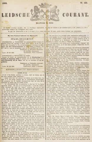 Leydse Courant 1883-07-30