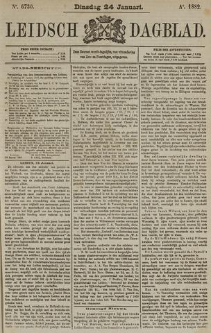 Leidsch Dagblad 1882-01-24