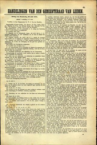 Handelingen van de Raad 1874-07-30