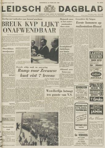 Leidsch Dagblad 1968-02-22