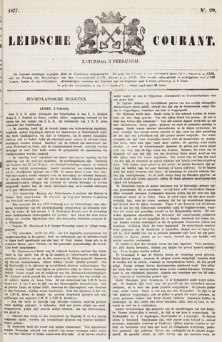Leydse Courant 1877-02-03
