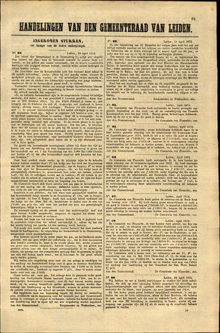 Handelingen van de Raad 1873-04-18