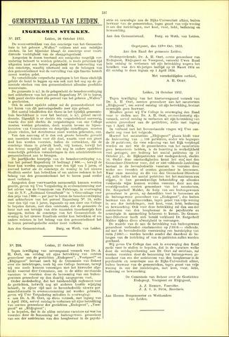 Handelingen van de Raad 1933-10-26