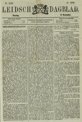 Leidsch Dagblad 1876-11-21