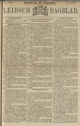 Leidsch Dagblad 1885-08-27