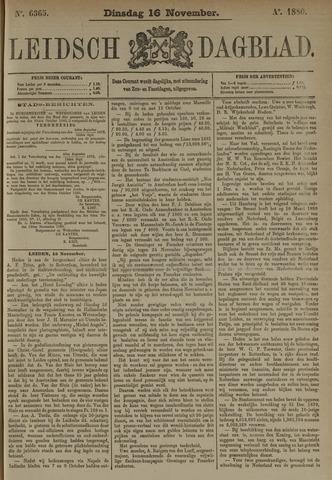 Leidsch Dagblad 1880-11-16