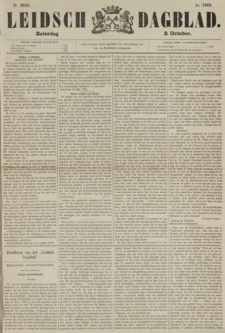 Leidsch Dagblad 1869-10-02