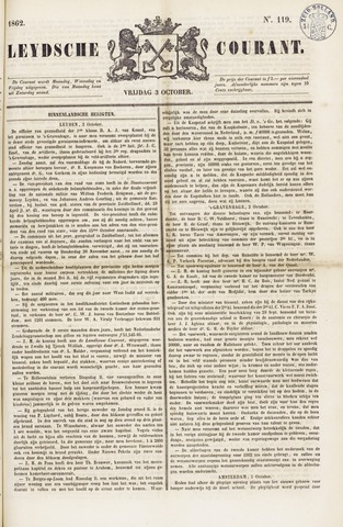Leydse Courant 1862-10-03