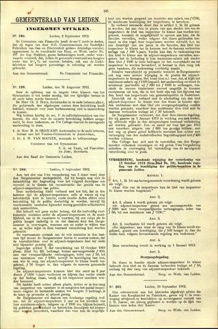 Handelingen van de Raad 1912-09-02