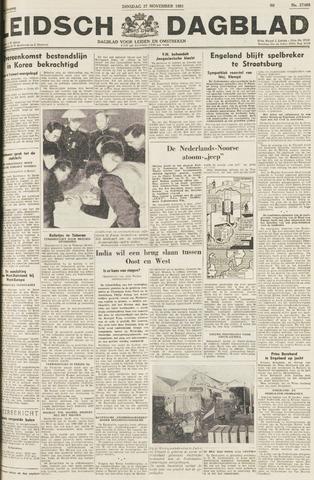 Leidsch Dagblad 1951-11-27