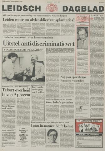Leidsch Dagblad 1985-09-26