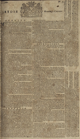 Leydse Courant 1760-04-28