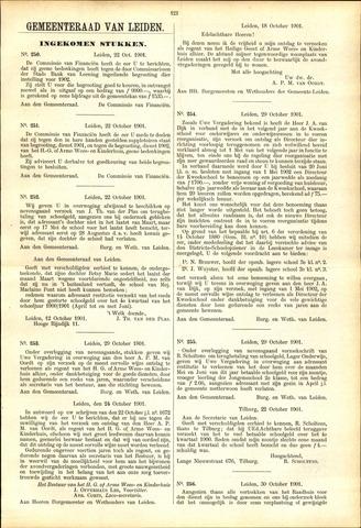 Handelingen van de Raad 1901-10-22