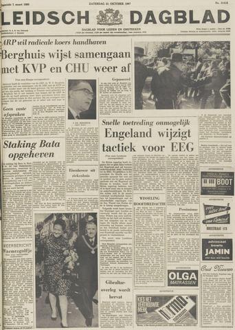 Leidsch Dagblad 1967-10-21