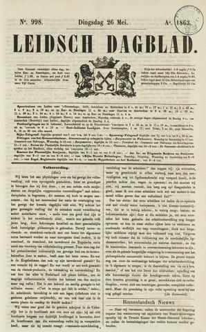 Leidsch Dagblad 1863-05-26