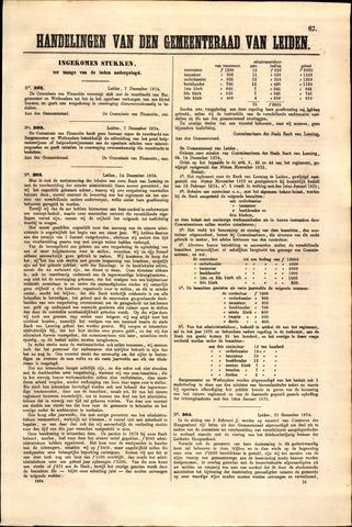 Handelingen van de Raad 1874-12-07