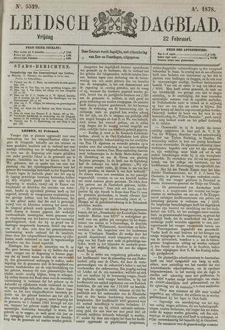 Leidsch Dagblad 1878-02-22