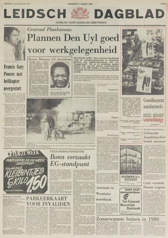 Leidsch Dagblad 1977-08-02
