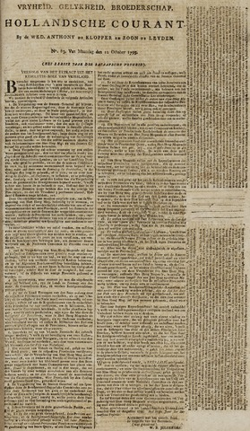 Leydse Courant 1795-10-12