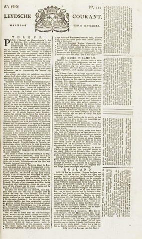 Leydse Courant 1826-09-18
