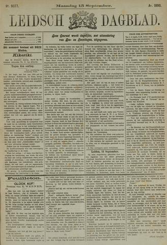 Leidsch Dagblad 1890-09-15